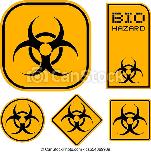 Creative Design Of Bio Hazard Symbols