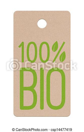 Bio label 1 - csp14477419