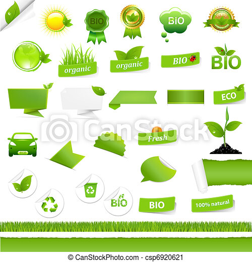 Bio Signs Set - csp6920621