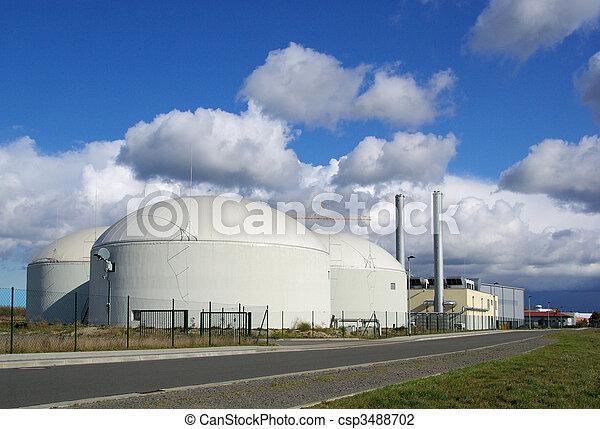 biogas plant 38 - csp3488702