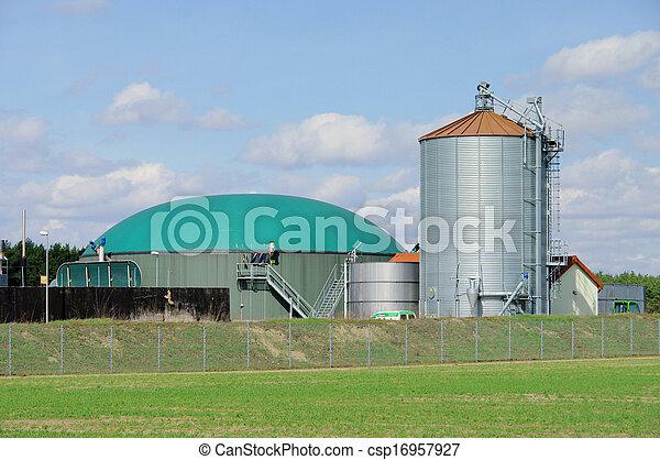 biogas plant 68 - csp16957927