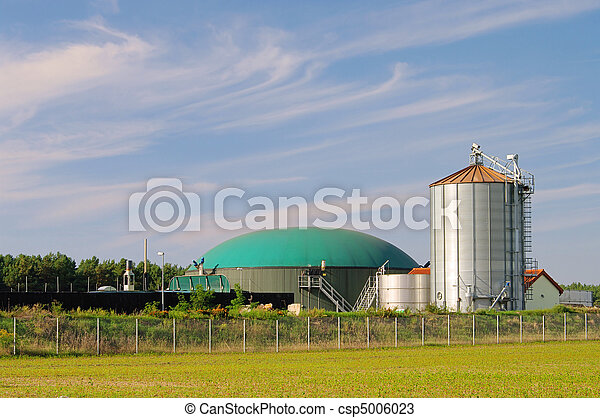 biogas plant 74 - csp5006023