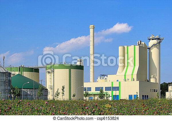 biogas plant 77 - csp6153824