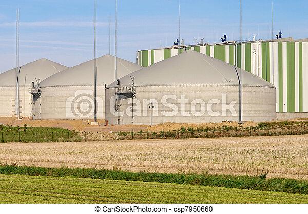biogas plant 80 - csp7950660