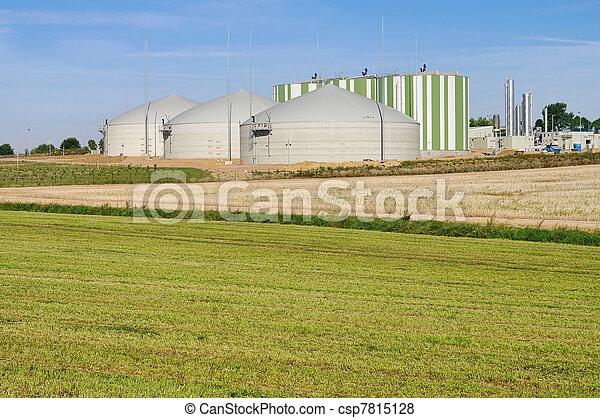 biogas plant 81 - csp7815128
