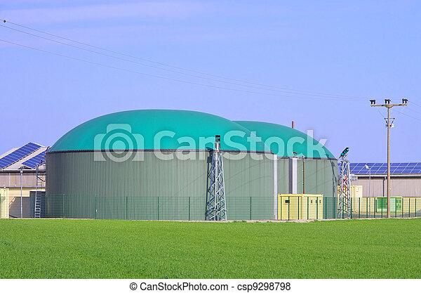 biogas plant 82 - csp9298798
