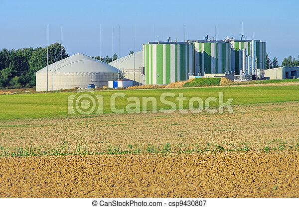 biogas plant  - csp9430807
