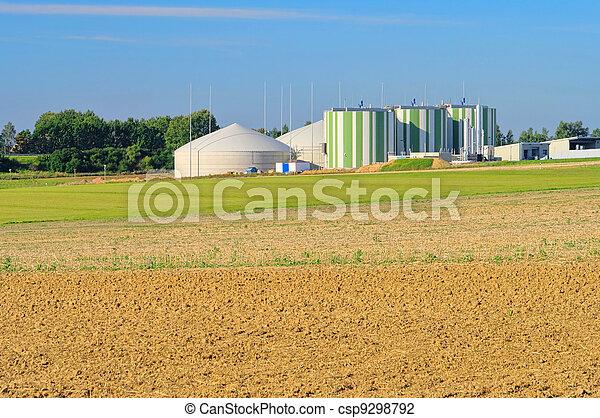 biogas plant  - csp9298792