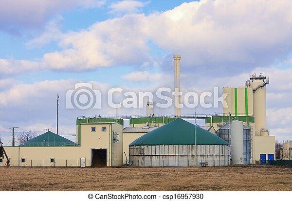 biogas plant  - csp16957930