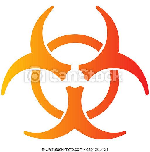 Biohazard sign - csp1286131