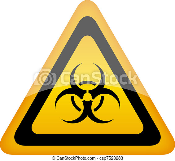biohazard vector sign biohazard warning sign vector vectors rh canstockphoto com biohazard vector cdr biohazard vector eps