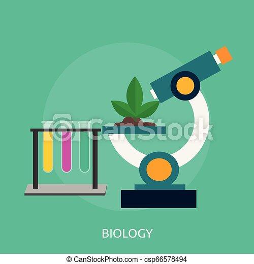 Biology Conceptual illustration Design - csp66578494