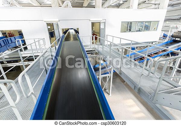 Biomass waste plant conveyer - csp30603120