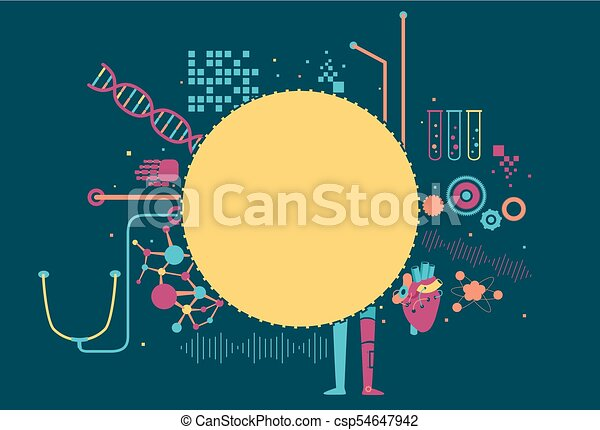 Biomedical Engineering Abstract Background - csp54647942