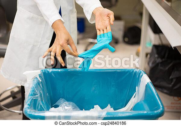 Biomedical trash - csp24840186