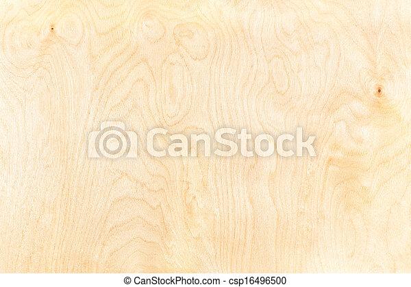 Birch plywood background - csp16496500
