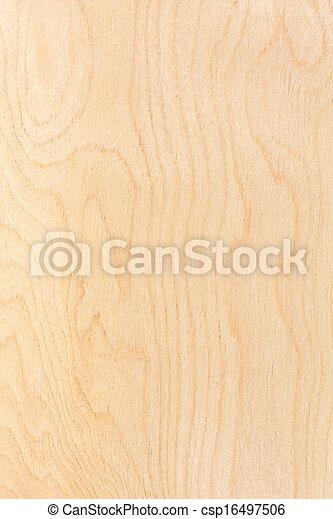 Birch plywood background - csp16497506