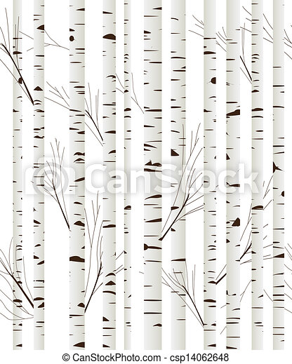 Favorite Birchwood background. Seamless pattern, background with birch wood  WR02