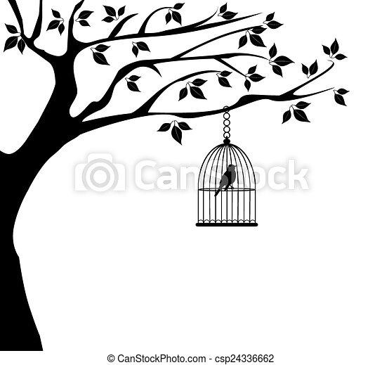 Bird Cage - csp24336662