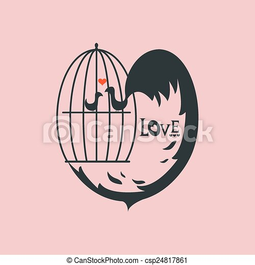 Bird cage - csp24817861