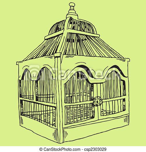 Bird Cage - csp2303029