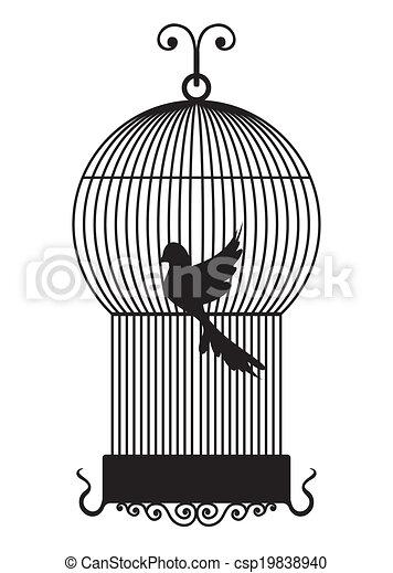 Bird cage  - csp19838940