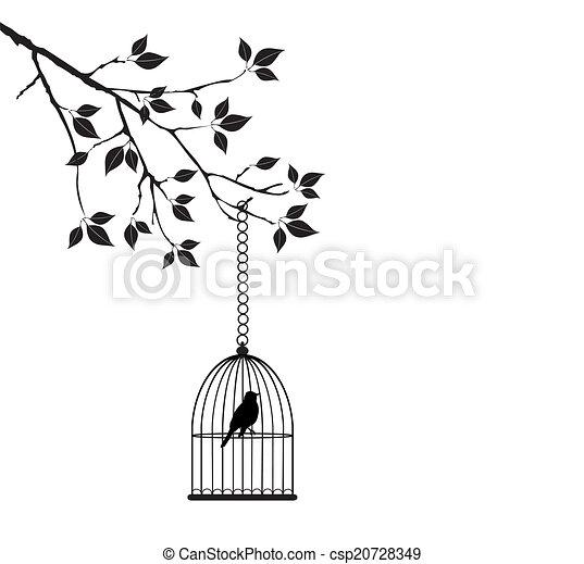 bird cage - csp20728349
