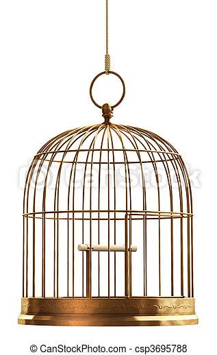 Bird Cage - csp3695788
