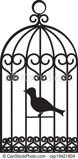 bird cage - csp19421804
