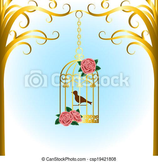 bird cage - csp19421808