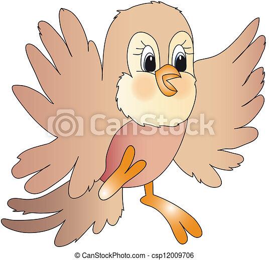 bird - csp12009706