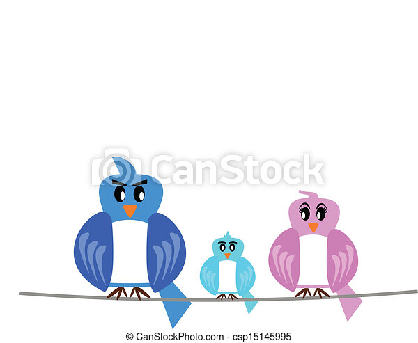 bird family - csp15145995