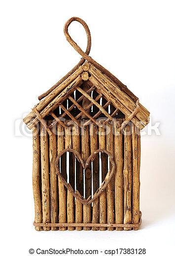 bird feeder house - csp17383128