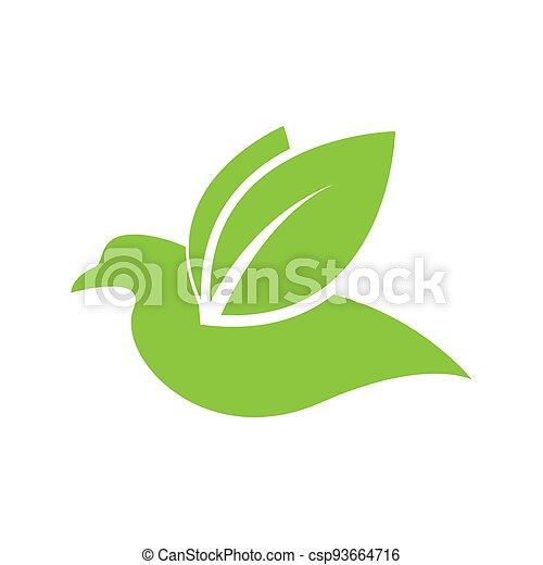Bird logo template - csp93664716