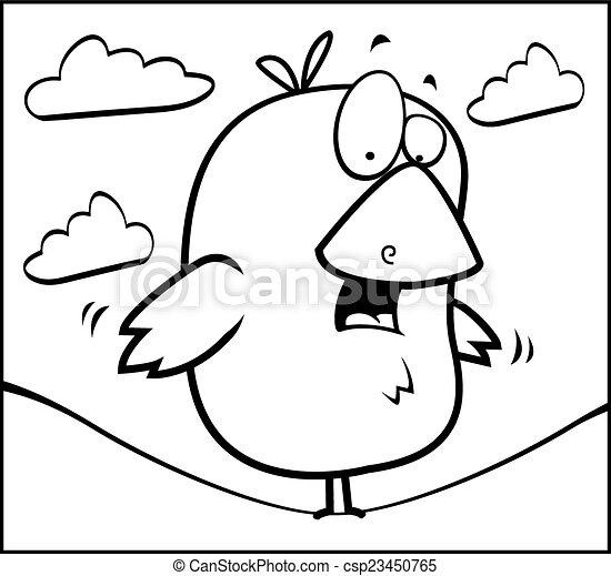 Bird on Wire - csp23450765
