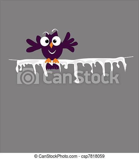 bird on wire - csp7818059