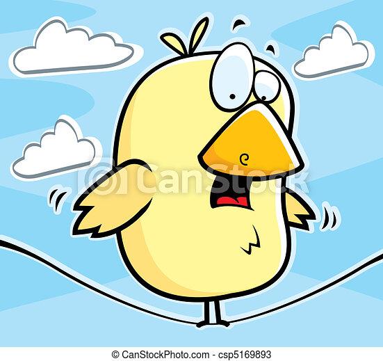 Bird on Wire - csp5169893