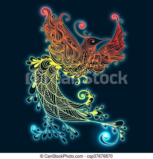 Bird Phoenix - csp37676870
