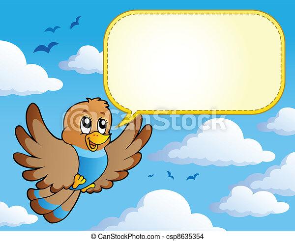 Bird theme image 4 - csp8635354