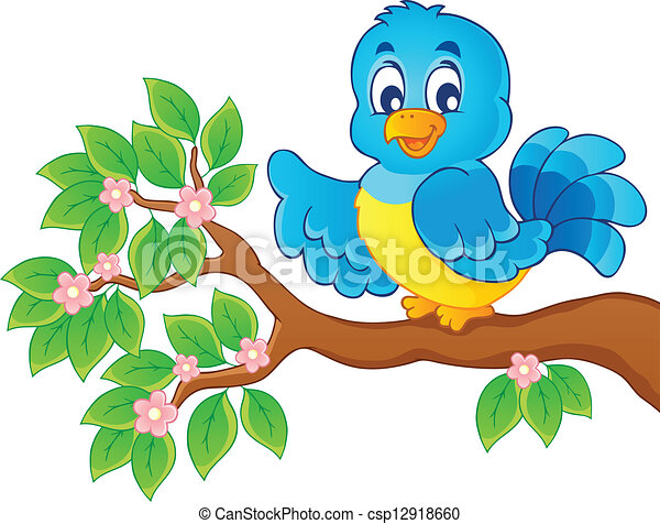 Bird theme image 6 - csp12918660