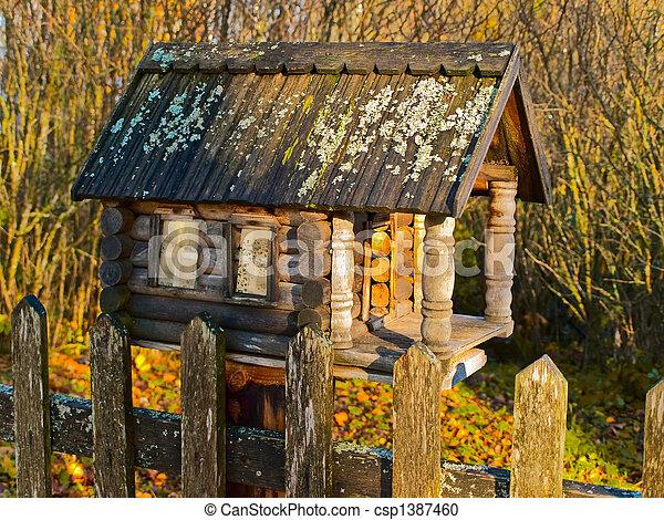 Birdhouse - csp1387460