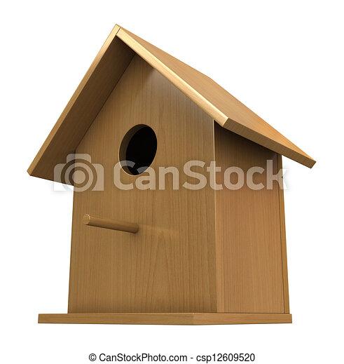 Birdhouse - csp12609520