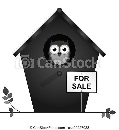 Birdhouse for sale - csp20927038