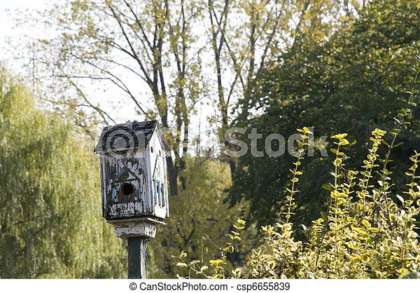 Birdhouse - csp6655839