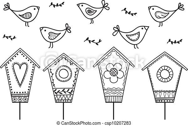 Pájaros y pajaros - csp10207283
