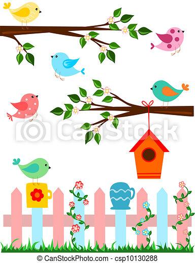 Birds - csp10130288
