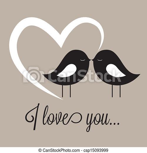 birds in love - csp15093999