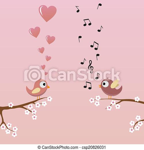 Birds in Love - csp20826031