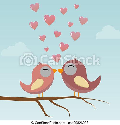 Birds in Love - csp20826027