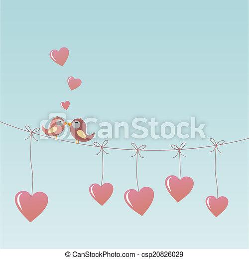 Birds in Love - csp20826029
